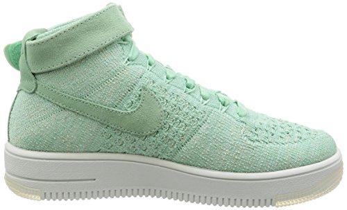 Nike W Af1 Flyknit, Scarpe sportive Donna enamel green 301