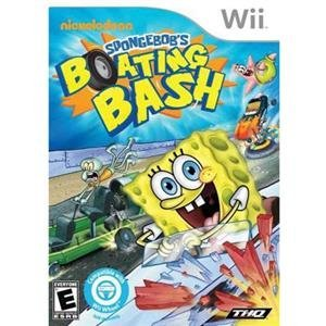 NEW Spongebob Boating Bash Wii (Videogame Software) by THQ