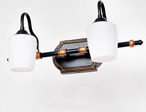ZCJB Badspiegel Lichter European Style Mirror Front Light Led Bad Spiegel  Kabinett Lichter Retro Spiegel Licht Make Up Beleuchtung ( Größe : 43cm )
