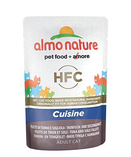 Almo Nature pâtée pour Chat Classique Cuisine Thon et Semelle
