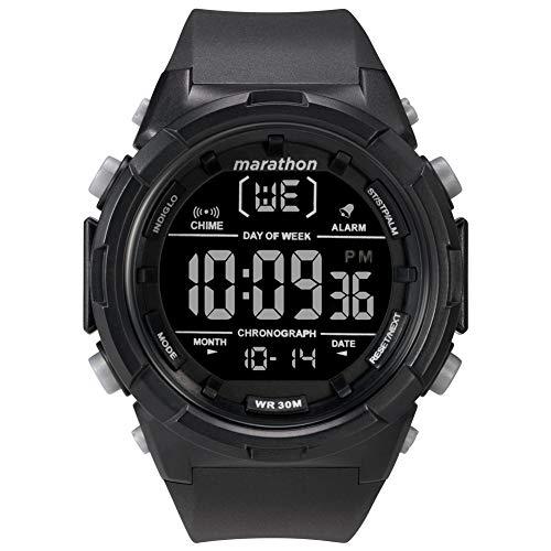 Timex Herren Digital Uhr mit Harz Armband TW5M22300 (Herren-digitaluhr Timex)