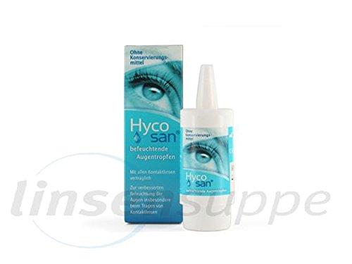Hycosan Augentropfen, 10 ml Pumpflasche von Eusan, 1er Pack (1 x 10 ml)