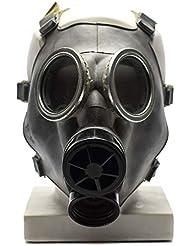 Cold war era Reproduction Gas Mask respiratory protection original face mask respirator REPLICA (Grey, Small)