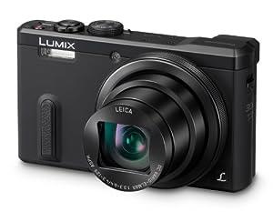 Panasonic DMC-TZ60EB-K Lumix Compact Digital Camera (18.1 MP, 30x Optical Zoom, High Sensitivity MOS Sensor) 3 inch LCD (New for 2014) - Black