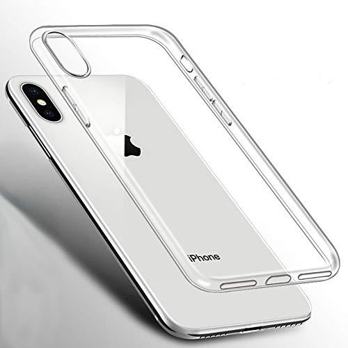 Beetop iPhone XI Pro Max (6.5) Hülle Schutzhülle Ultradünn Handyhülle Transparent Weiche Silikon TPU Rückschale Case Cover für Apple iPhone 11 (6.5inch) 2019 - Durchsichtig