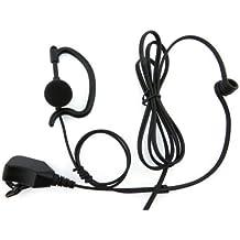 Kenwood Forma G auricular con micrófono y PTT para TK2202 TK2302 TK3202 TK3302