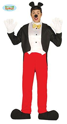 Comic Maus Held - Kostüm für Herren Gr. M/L, Größe:L