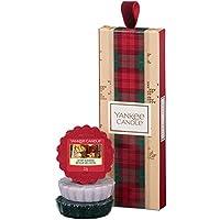 YANKEE CANDLE Set Regalo con 3 Tart profumate, Collezione Natale in Montagna, Confezione Regalo Natalizia
