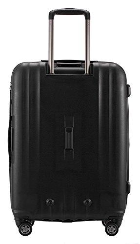 HAUPTSTADTKOFFER - FHAIN Koffer Trolley Hartschale matt, TSA, 77 cm, 110 Liter, Schwarz -