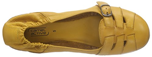 Camel Active Bamboo 75, Ballerines fermées femme Orange - Mangue