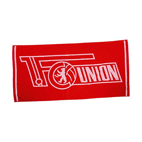 "'1. FC Union Berlin Serviette ""Logo Rouge in 50 x 100 cm"
