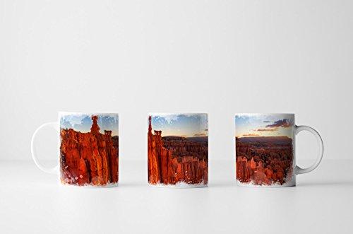 EAU ZONE Fotokunst Tasse Geschenk Der Hammer des Thor – Nationalpark Utah