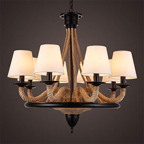 Im Europäischen Stil Retro Industrial Wind Kreativen Bettwäsche Kronleuchter (8 Lampe)