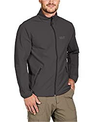 Jack Wolfskin Herren Softshelljacke Motion Flex Jacket M Dark Steel, M