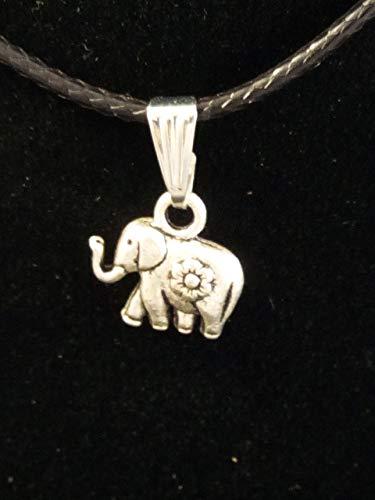 Colgante en Zamak metalizado y Acero, Elefante de la suerte