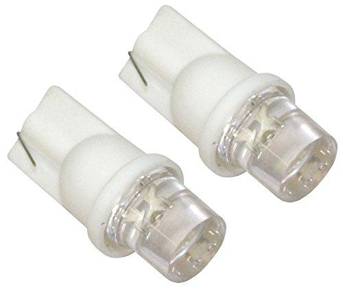 AERZETIX: Jeu de 2 ampoules T10 W5W 12V à LED (Blanc)