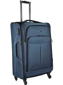Thames Oscar Nylon 65cm Softsided Trolley | Travel | Cabin Luggage (Blue)
