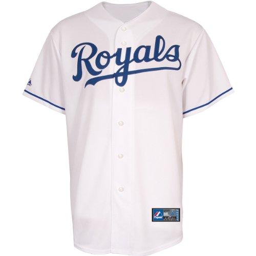 Majestic Kansas City Royals Replica MLB Trikot Home (M) (Go Trikot Home)