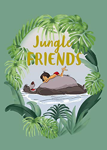 Komar Disney Wandbild Jungle Book Friends | Kinderzimmer, Babyzimmer, Dekoration, Kunstdruck | ohne Rahmen | WB091-50x70 | Größe: 50 x 70 cm (Breite x Höhe) -