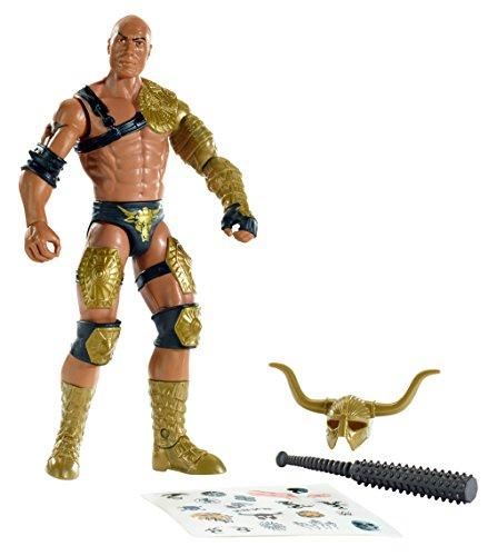 Mattel CMD85 - WWE - Create a WWE Superstar - 15cm Action Figur - The Rock [UK Import] Wwe The Rock Mattel