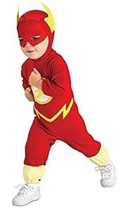 Rubies - Disfraz Marvel The Avengers El Flash para niños de 8-10 años (881369_L)