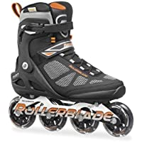 Rollerblade Macroblade 80 Pattino in Linea, Unisex adulto, Nero, 42