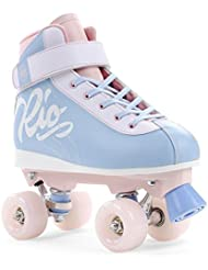 Rio Roller batidos y niños/adultos Quad patines Cotton Candy, Cotton Candy