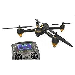 HUBSAN H501S X4 FPV Drone avec Caméra HD/Télécommande Noir
