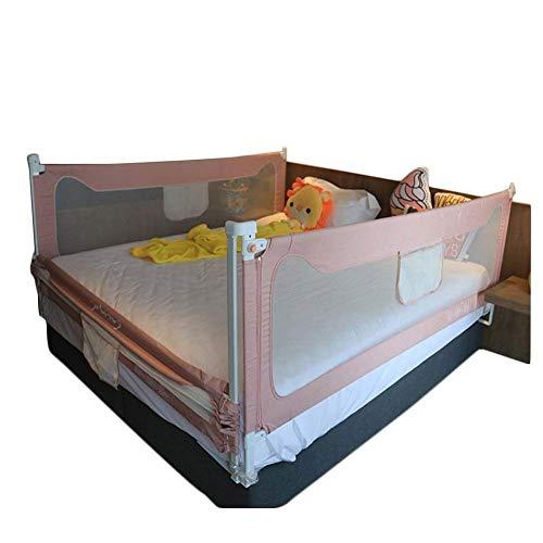 JAZC-Bettgitter Klappbar Bettschutzgitter Mit Perspektiven Netz Kinderbettgitter Fallschutz Bett Für Kinder3er Set Für 3 Seiten (Size : 1.2x2.0x2.0m)