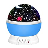 2-10 Year Old Boy Toys, Friday Night Light Rotating Projector for Kids Babies