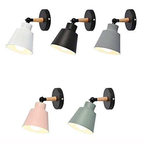 Deckenfluter Ist Anhänger ((Farbe: Weiß) Licht Nordic Einstellbare Wandleuchte Moderne Einfache Wohnzimmer Hintergrund Wandleuchte Persönlichkeit Kreative Gang Schlafzimmer Nachttischlampen Hängende Beleuchtung)