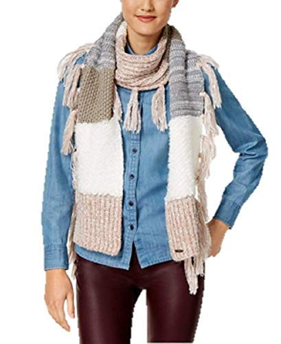 Steve Madden Block Party Scarf in Blush Steve Madden-block