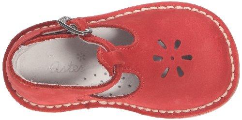 Aster Bimbo, Chaussures montantes bébé fille Rouge