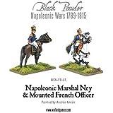 Black Powder, Napoleonic Wars, Marshal Ney & Mounted French Officer, 28mm