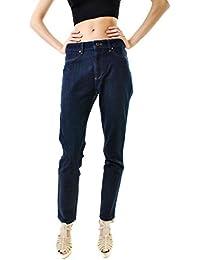 DL1961 Femmes Nina Super Rise Skinny Jeans Bleu