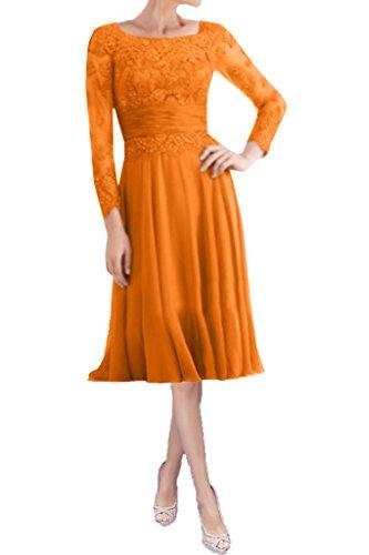 Victory Bridal - Robe - Trapèze - Femme Orange Kurz