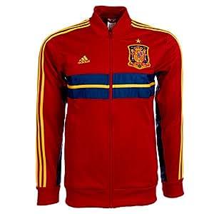 2013-13 Spain Adidas Anthem Jacket (Red)