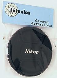 Fotonica 77mm Center-Pinch Snap-On Lens Cap for Nikon Lens