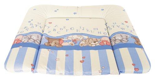 Rotho Wickelauflage 75 x 85 cm Design: Baby Bleu Bärchen