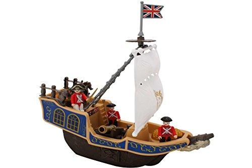 Piratenschiff 3 Figuren und Zubehör