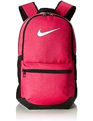 competitive price d17a8 37707 Nike Nk Brsla M Bkpk, Zaino Unisex-Adulto, (Rush Rosa Nero