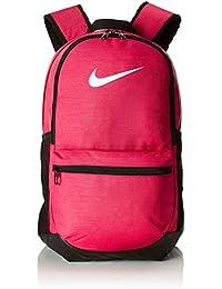 Nike Unisex-Erwachsene Nk Brsla M Bkpk Rucksack, (Rush Pink/Black / Whit), 15x24x45 Centimeters