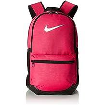 Nike Nk Brsla M Bkpk Mochila, Unisex Adultos, Rosa (Rush Pink/Black