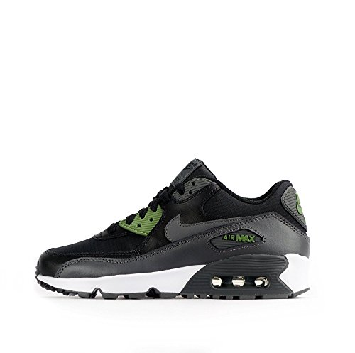 833418 008|Nike Air Max 90 Mesh (GS) Sneaker Schwarz|39