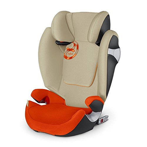CYBEX Solution M-Fix, Toddler Car Seat, Autumn Gold – Burnt Red