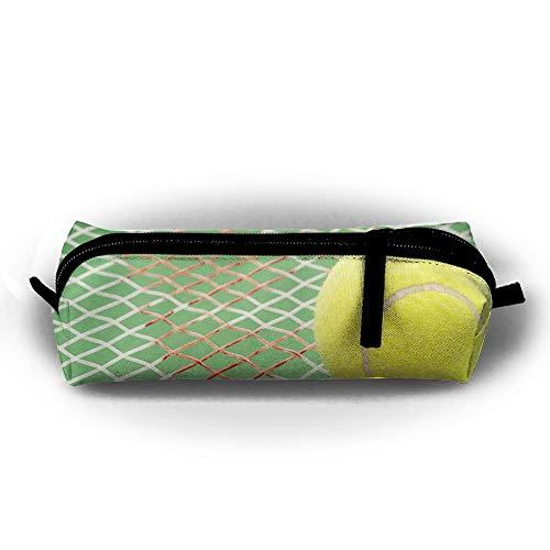 Federmäppchen für Tennis- und Schläger, mit Reißverschluss, Kleine Kosmetiktasche, Make-up-Tasche für Kinder, Jugendliche und andere Schulutensilien