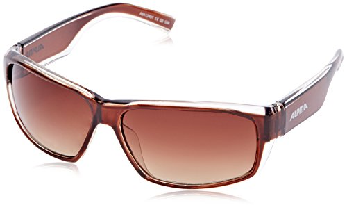 Alpina Sonnenbrille Casual A 61, brown transparent, A8412491