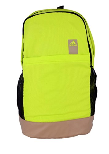 adidas ST BP-3 Polyester Backpack, Men's (Green)