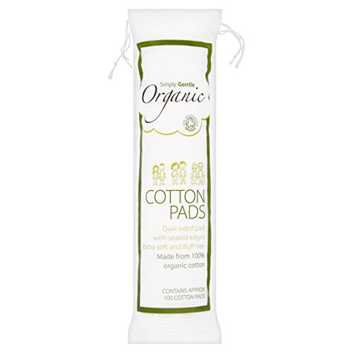 Simply Gentle Organic Pads, 100-Count (Pack Of 6)
