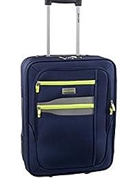 viajes maleta trolley semirígida PIERRE CARDIN Blue equipaje FG1775M 75x27x45cm medio